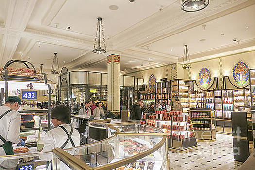 Patricia Hofmeester - Chocolate counters at Harrods, London