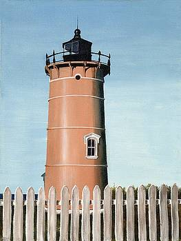 Chocolate Lighthouse by Mary Rogers