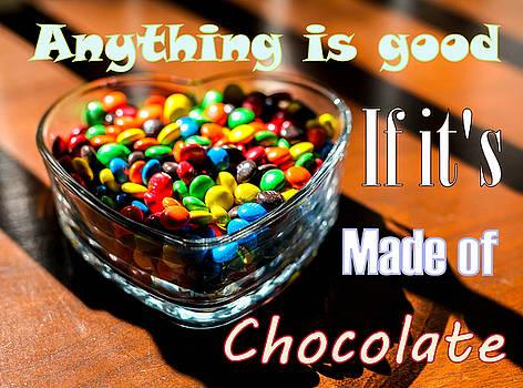 Text - Chocolate Heart by Kip Krause