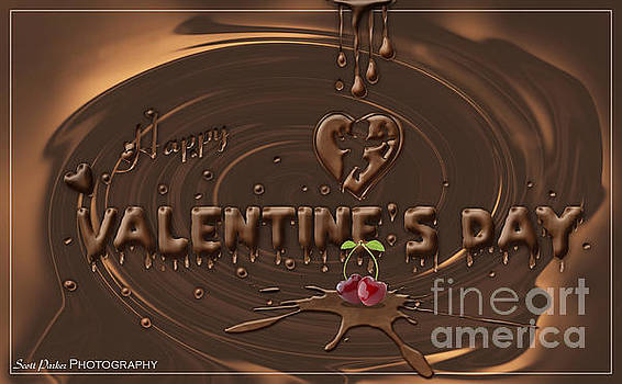 Chocolate Valentines Day Card by Scott Parker