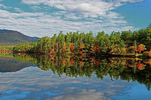 Chocorua Lake Reflection by Liz Mackney