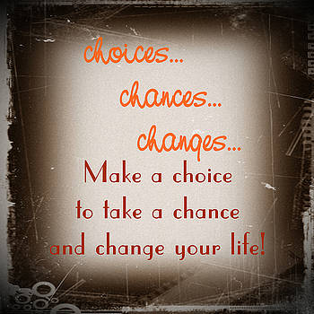 KayeCee Spain - choices... chances... changes...