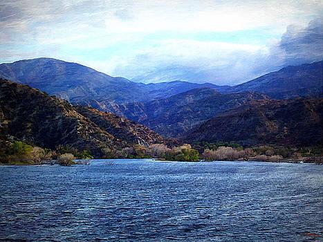 Glenn McCarthy Art and Photography - Choppy Waters Across The Lake