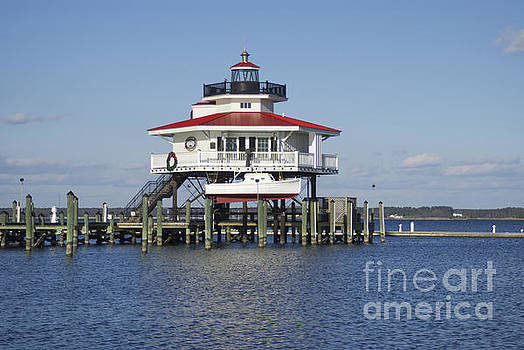 Choptank River Lighthouse Replica by Lori Amway