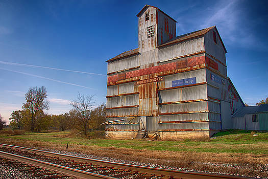 Chouteau Elevator by Debby Richards