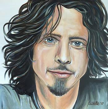 Chris Cornell by Suzette Castro