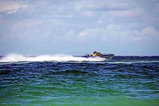CHRIS GONE WILDER 112 Power Boat by Debbie Oppermann