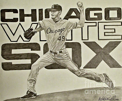Chris Sale by Melissa Goodrich