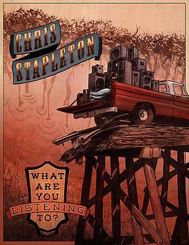 Chris Stapleton Poster by Ethan Harris