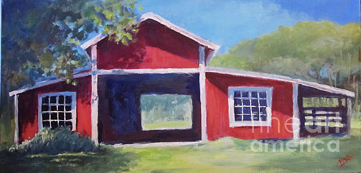 Chris's Barn by Carol Hart