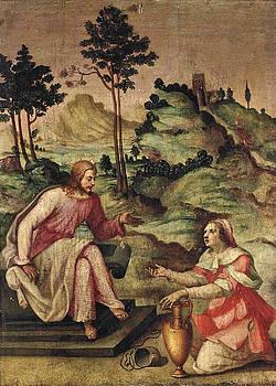Francesco del Brina - Christ and the Woman of Samaria