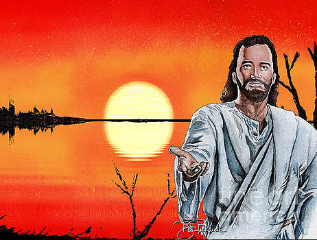Christ at Sunrise by Bill Richards