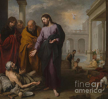 Christ at the Pool of Bethesda by Bartolome Esteban Murillo