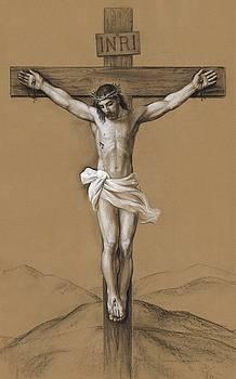 Christ Crucified by Svitozar Nenyuk