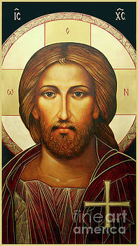 Christ Icon by Ann Chapin