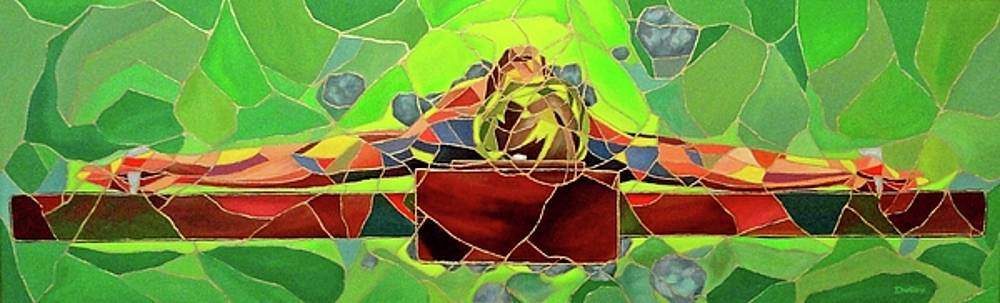 Christ in Stained Glass by Kevin Davidson