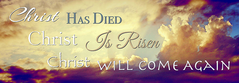 Christ Is Risen by Kori Creswell