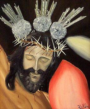 Christ of the Charity by Jose Luis Villagran Ortiz