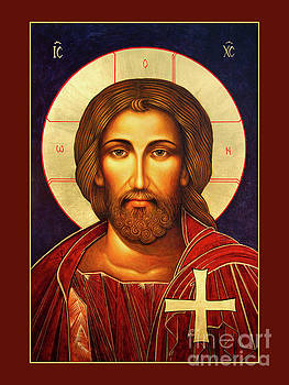 Christ Redemeer Icon by Ann Chapin