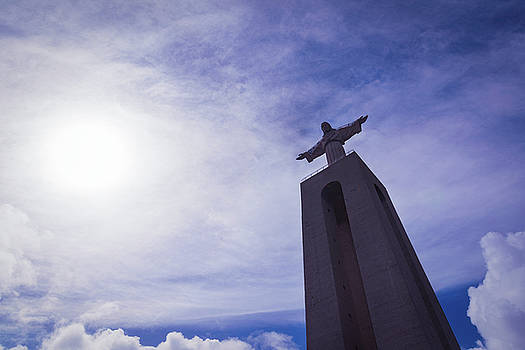 Christ the King. Lisbon. Portugal by Zina Zinchik