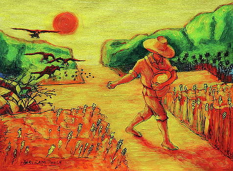 Christian Art Parable of the Sower artwork T Bertram Poole by Thomas Bertram POOLE