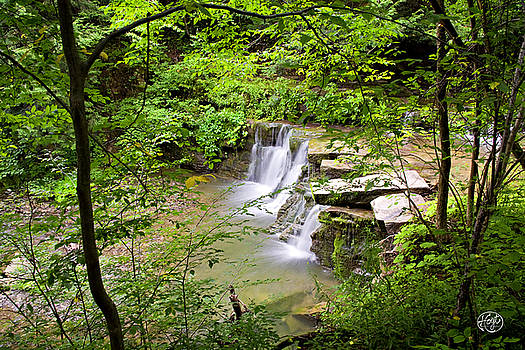 Christian Hollow Waterfall by Brad Hoyt