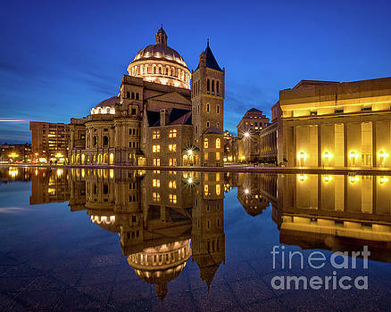 Christian Science Mother Church by Jerry Fornarotto