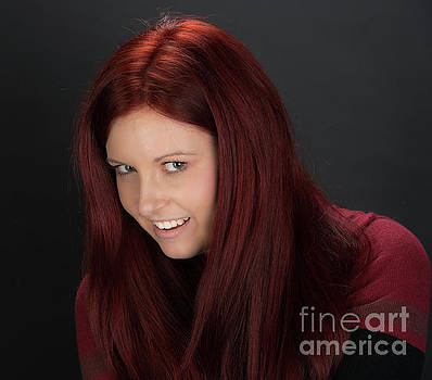Christiana - Red-head by Robert McAlpine