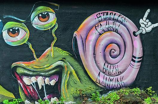 Christiania Mural by Rob Hemphill