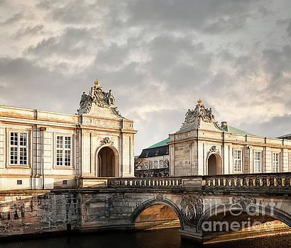 Sophie McAulay - Christiansborg castle entry
