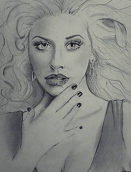 Christina Aguilera by Angela Moore