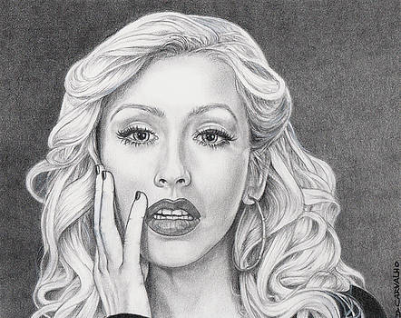Christina Aguilera by Daniel Carvalho