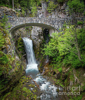 Christine Falls by Jerry Fornarotto