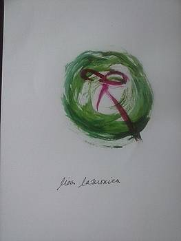 Christma Wreath by Lisa LaMonica