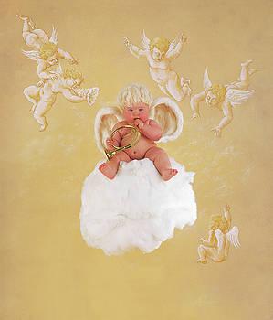 Christmas Angel by Anne Geddes