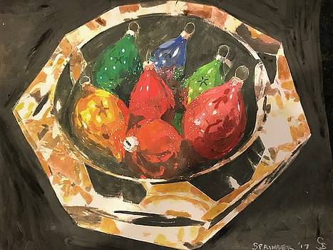 Christmas Baubles by Gary Springer