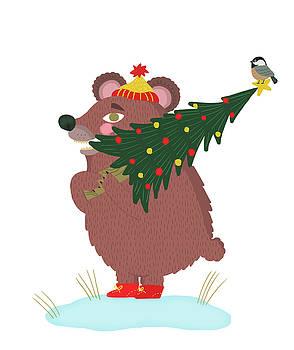 Christmas Bear by Nicole Wilson