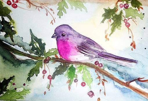 Christmas Bird  by Charu Jain