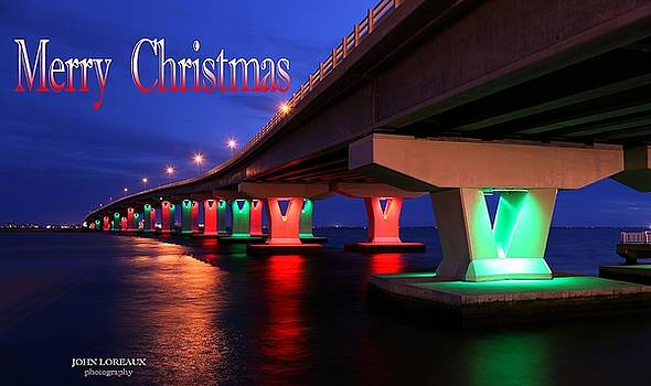 Christmas Bridge by John Loreaux