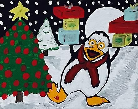 Christmas Card Canvas Artwork by Jonathon Hansen