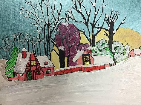 Christmas Card by Paula Brown