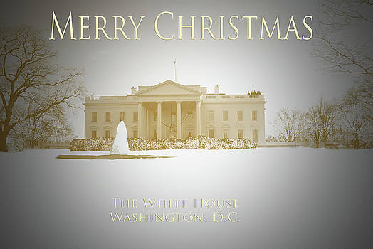 Jost Houk - Christmas Card White House