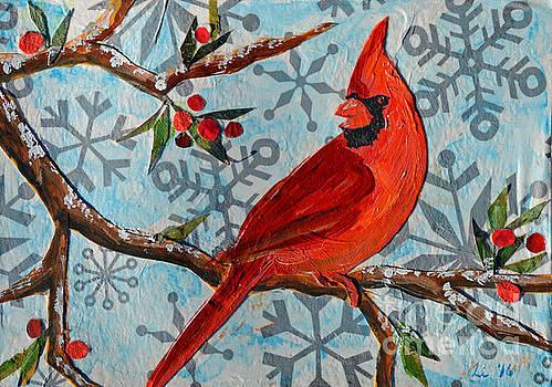 Li Newton - Christmas Cardinal
