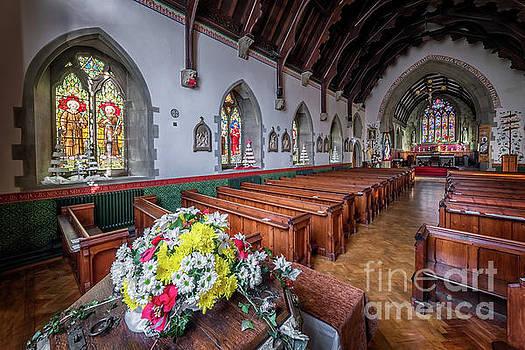 Adrian Evans - Christmas Church Flowers