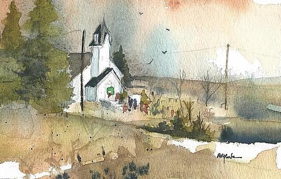 Christmas Church by Robert Yonke
