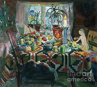 Christmas Day by Nikolai Astrup
