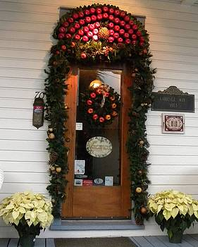 Christmas Door by Kim Zwick