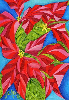 Christmas Euphorbia by Joseph Edward Allen