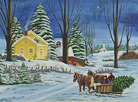 Charlotte Blanchard - Christmas Eve In The Country
