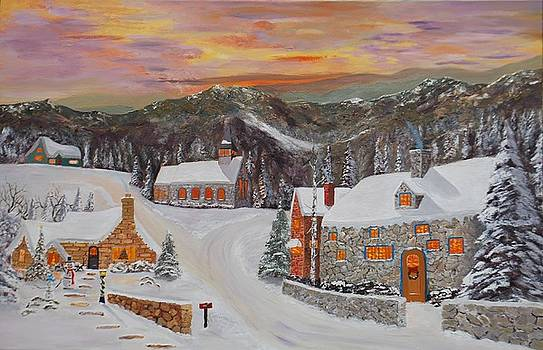 Christmas Glow by Brian Hustead